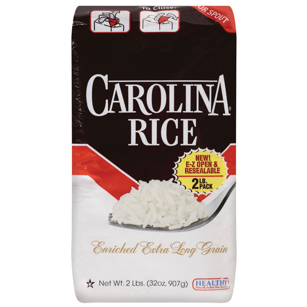 Carolina White Rice, 2 lb.