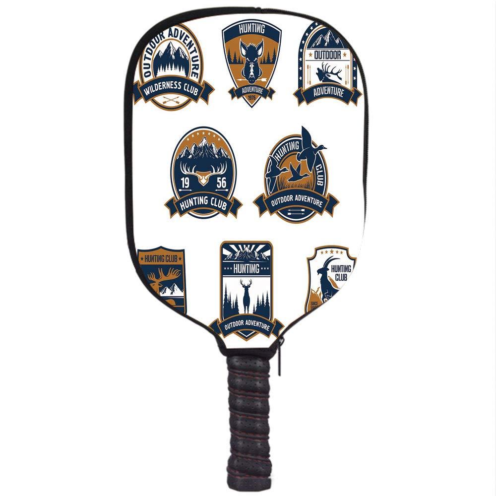 Amazon.com : Neoprene Pickleball Paddle Racket Cover Case ...