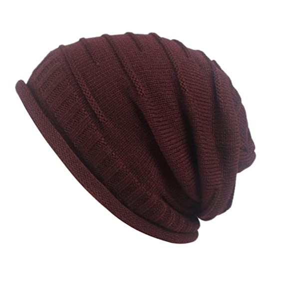 Frauen Retro Winter Stricken Hut Turban Krempe Hut Cap Pile Cap ...