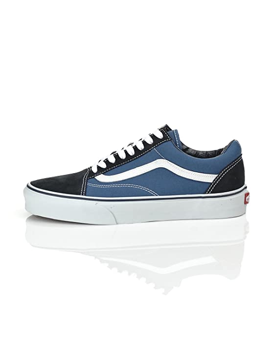 Vans Unisex Erwachsene Old Skool Sneakers Suede/Canvas Blau
