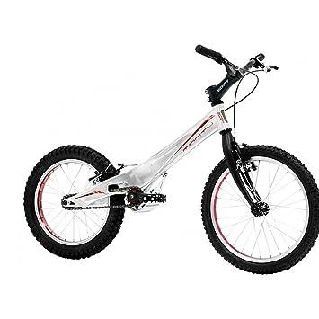 Monty 205K - Bicicleta de Trial para niño, Color Plateado/Rojo, 5 ...