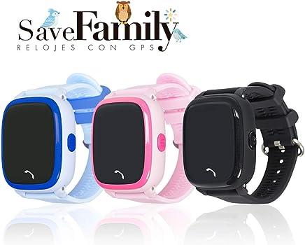 Reloj con GPS para niños SaveFamily Modelo Completo Negro ...