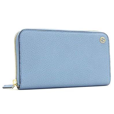 buy online 840c2 a7210 Amazon | グッチ 長財布 レディース GUCCI Wallet ライトブルー ...