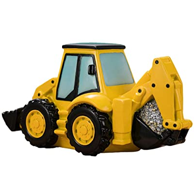 FUYU Cartoon Excavator Piggy Bank Coin Bank Large Capacity Money Box Home Decor: Toys & Games