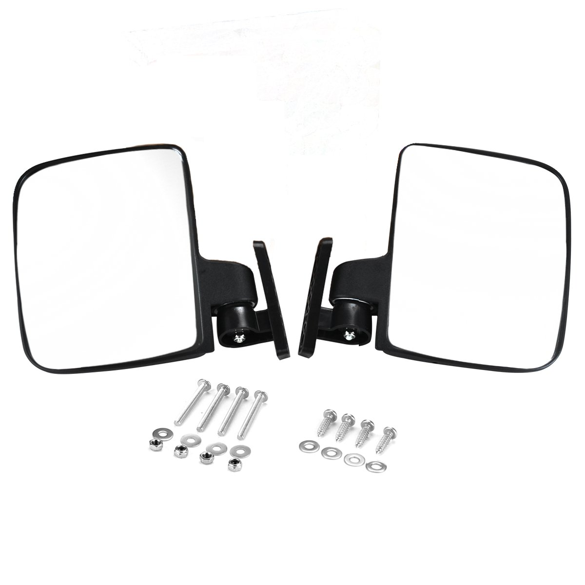 Valchoose Golf Cart Side Mirrors for EZGO Club Car Yamaha, Foldable Golf Cart Accessories