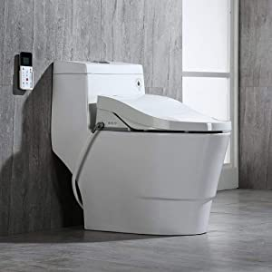 WoodBridge T-0008 Elongated Luxury Bidet Smart Toilet