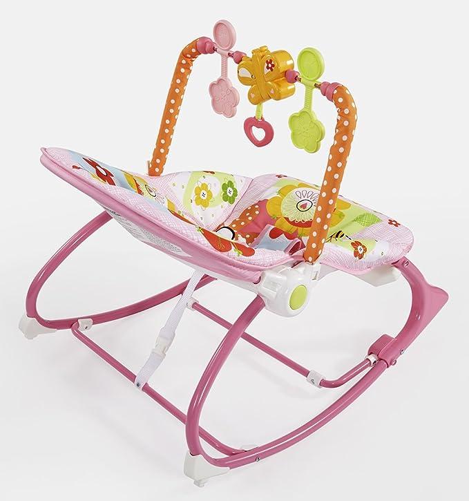 Fisher-Price Hamaca crece conmigo conejitos divertidos rosa para ...