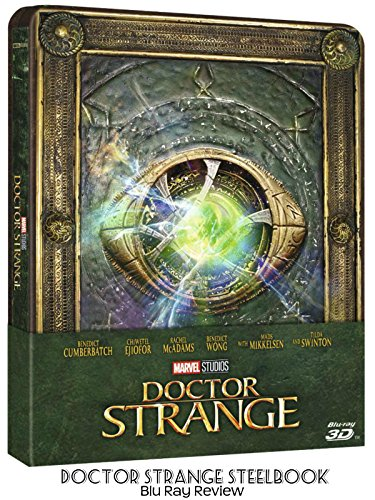 Review  Doctor Strange Steelbook Blu Ray Review
