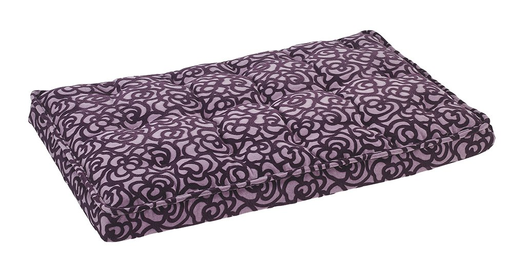 Bowsers Luxury Crate Mattress Dog Bed, Small, Mulberry