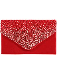 Amazon.com: Reds - Evening Bags / Clutches & Evening Bags ...