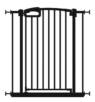 Amazon Com Perma Child Safety Secure Handle Doorway Gate Black Baby