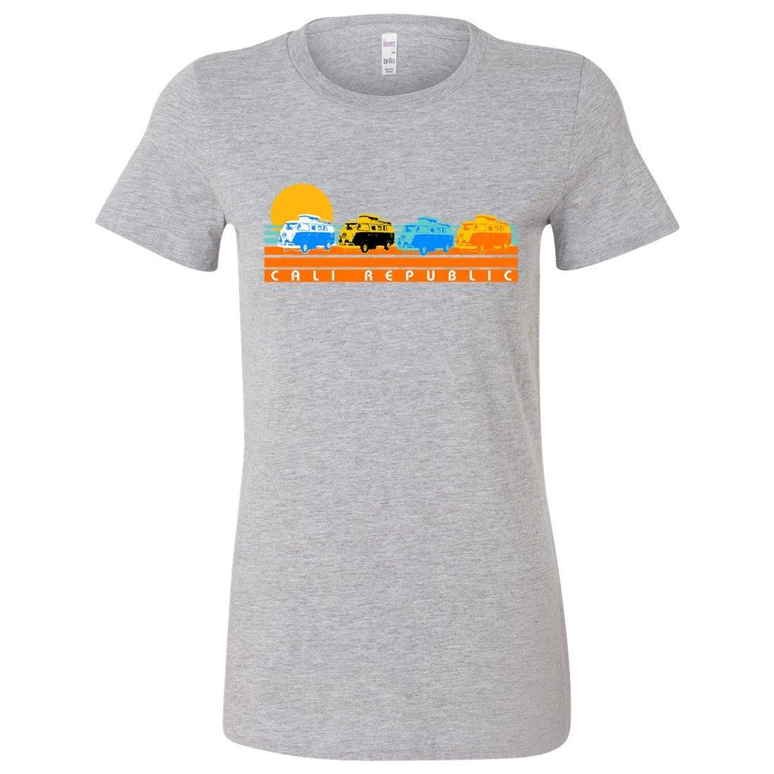 Cali Republic Vintage Van Sunset Lightweight Ted T-shirt