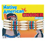 Indian Choker Deluxe Jewellery for Wild West Cowboys Native Fancy Dress Jewellery