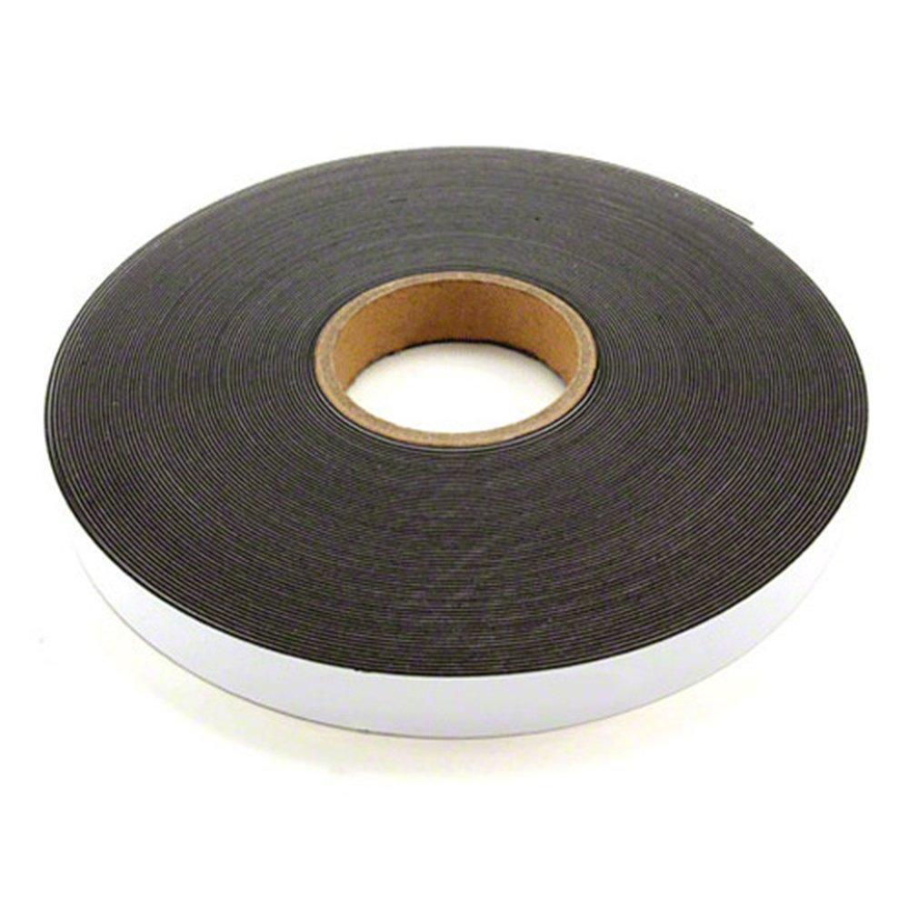 Magnet Expert® 25mm de ancho x 1,3mm de grosor brillante blanco tira de hierro con autoadhesivo (5m longitud)