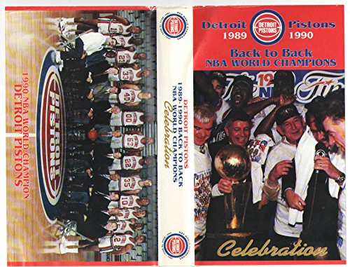 Detroit Pistons 1989-1990 Back to Back NBA World Champions Celebration (1989 Detroit Pistons)