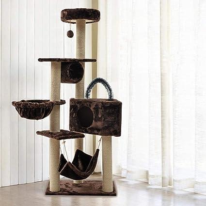 Gato trepador Arena para Gatos Árbol de Gatos Juguete para Gatos ...
