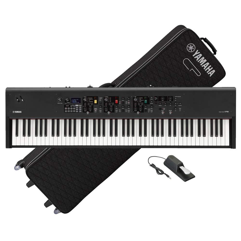海外最新 YAMAHA ヤマハ/ ヤマハ CP88 YAMAHA B07P421S82【専用ケースセット!】88鍵盤ステージピアノ B07P421S82, 北のデリシャス:c7756247 --- application.woxpedia.com