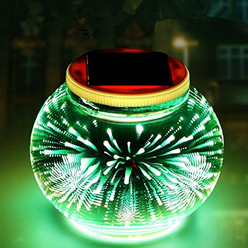 Garden Magic Table Lamp - Sammid 3D Deco Light,Waterproof Solar LED Night Light Desk Table Lantern Garden Christmas Decoration Lamp