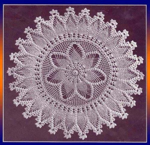 Pineapple Doily Crochet Pattern