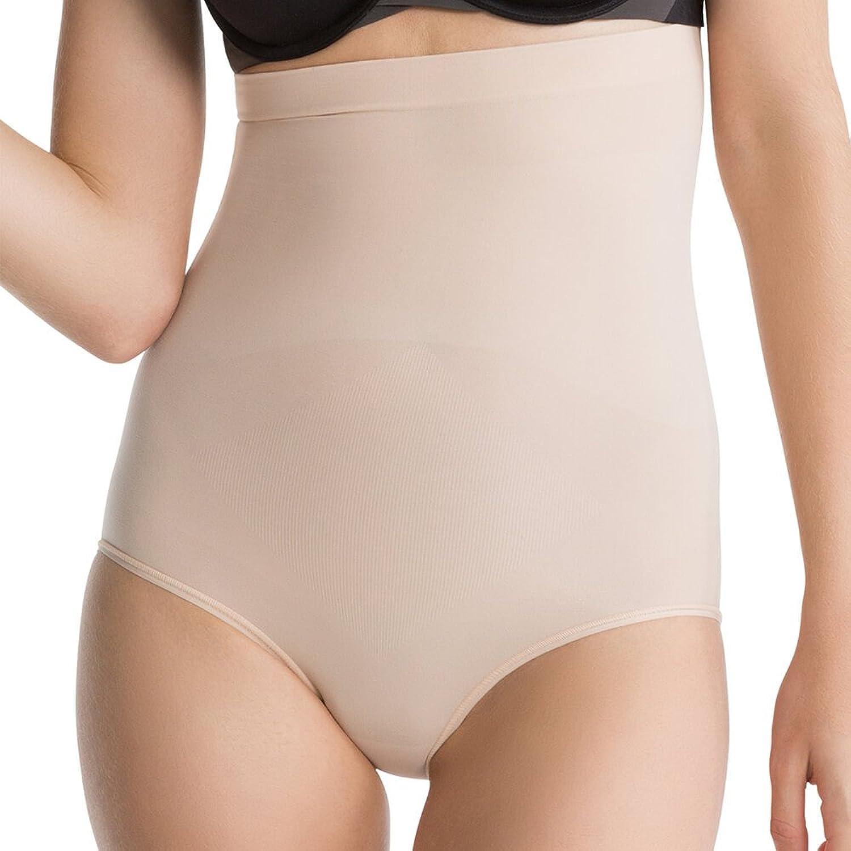 Luxurious Spanx Slimming Shapewear Lightweight Higher Power Panties, Nude, Medium
