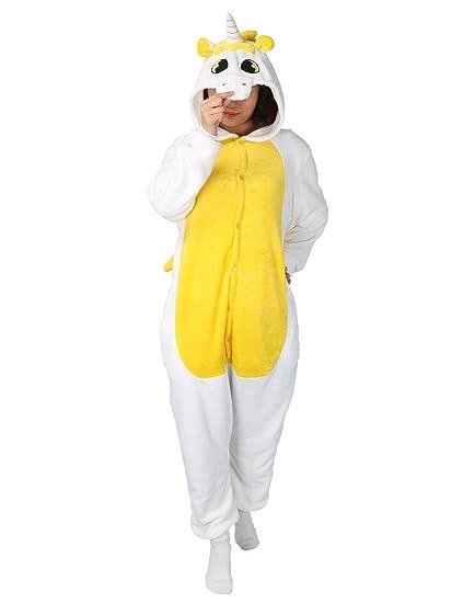 PIN Disfraz Original Pijama Cosplay Unicorn Carnaval Halloween Kigurumis Ropa de Dormir Animal Unisex