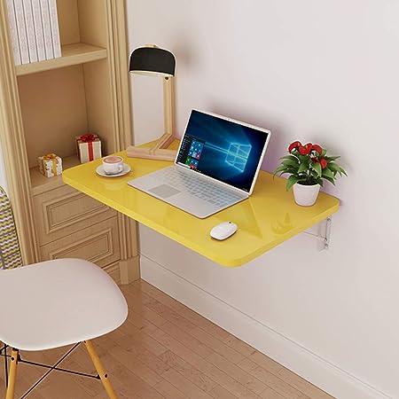 Organizador del área de trabajo Mesa plegable, mesa montada en la pared Cocina Mesas de comedor de madera Cocina Computadora de usos múltiples Computadora portátil Escritorio Ahorro de espacio: Amazon.es: Hogar
