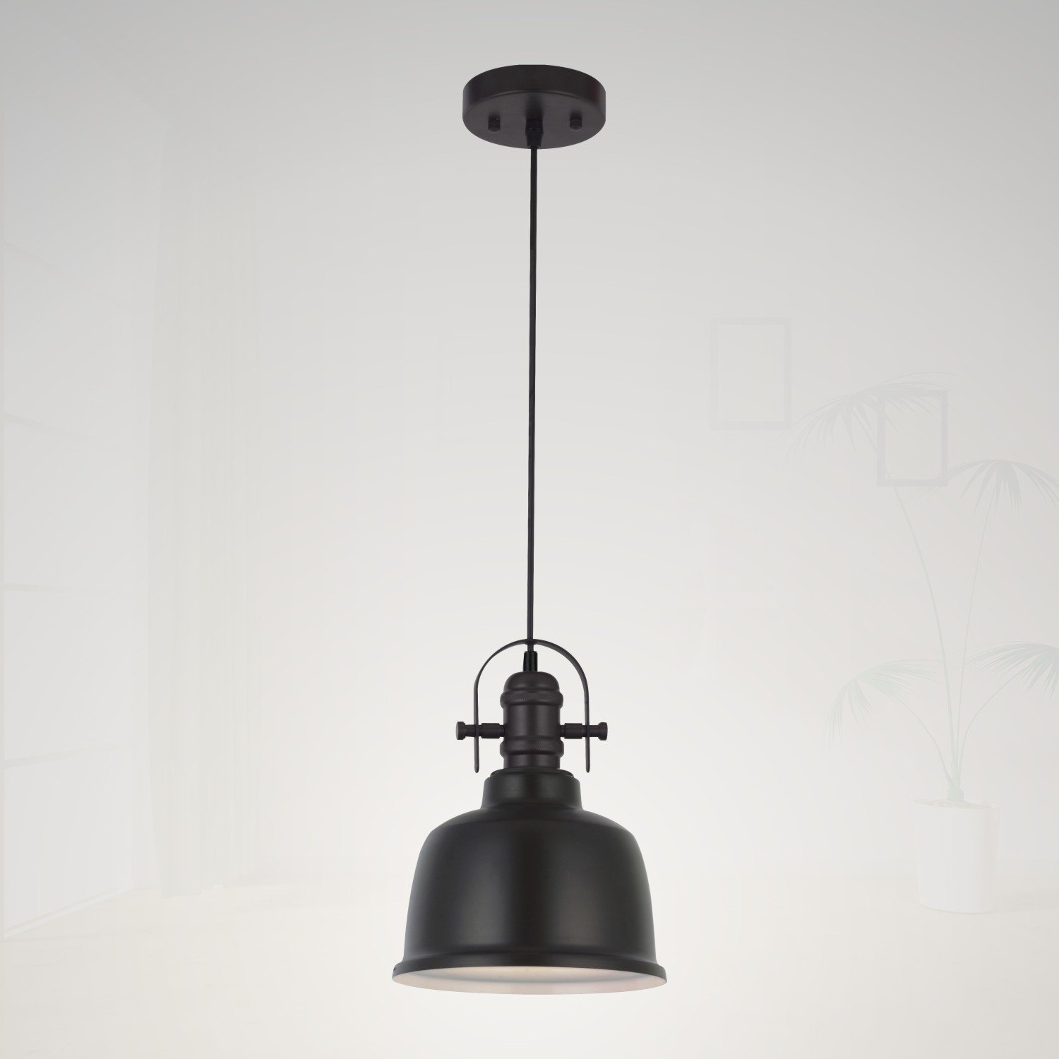 Industrial Pendant Light for Kitchen Island by MELUCEE, Oil Rubbed Bronze Finish, Vintage Modern Farmhouse Lighting Fixture Chandeliers for Dining Room