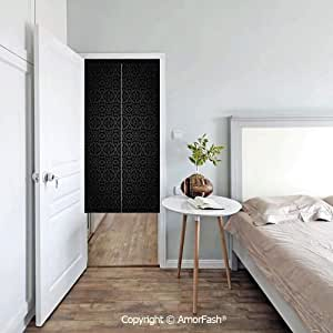AmorFash London - Cortina japonesa Noren para puerta con diseño de grulla noren: Amazon.es: Hogar