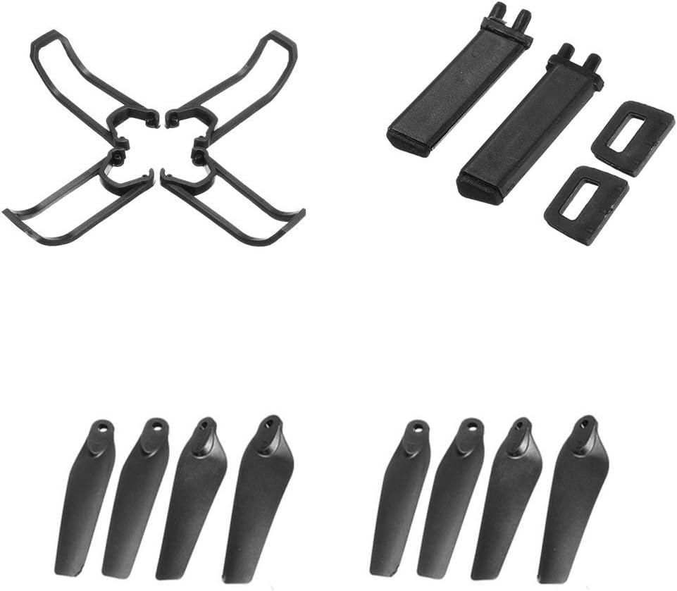 Fytoo 4pcs Propeller+4pcs Protective Cover+4pcs Landing Gear for E58 S168 JY019 Folding Quadcopter Spare Parts Remote Drone