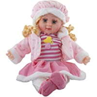 CBEX Reborn Silicone Soft Baby Girl Doll for Gift Purpose (Pink, 42 cm)