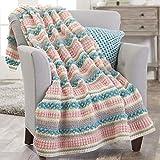 Herrschners® Eureka Springs Crochet Afghan Kit
