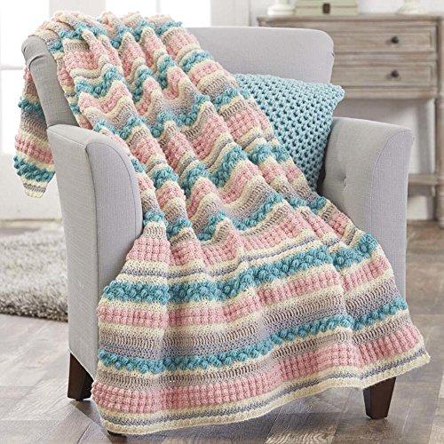 Herrschners® Eureka Springs Crochet Afghan Kit by Herrschners®