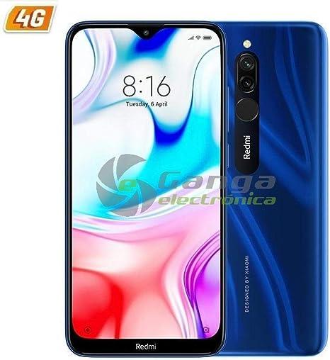Smartphone XIAOMI REDMI 8 6,22HD+ 4GB/64GB 4G-LTE 8/12+2MPX ...
