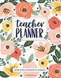 Lesson Planner for Teachers 2018 2019 Weekly and Monthly Teacher Planner Academic Year Lesson Plan and Record Book July 2018 through June 2019