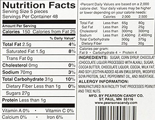 Pearson's-Mint Patties, 240 Mint Patties- 8 Pack by Pearson's (Image #3)