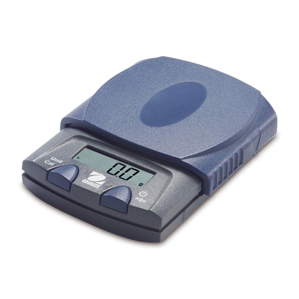 Ohaus PS121 PS Series Portable Electronic Pocket Scale, 120g Capacity, 0.1g Readability