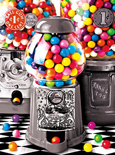 Buffalo Games - Color Splash Collection - Gumball Surprise - 1000 Piece Jigsaw (Ball Jigsaw Puzzle)