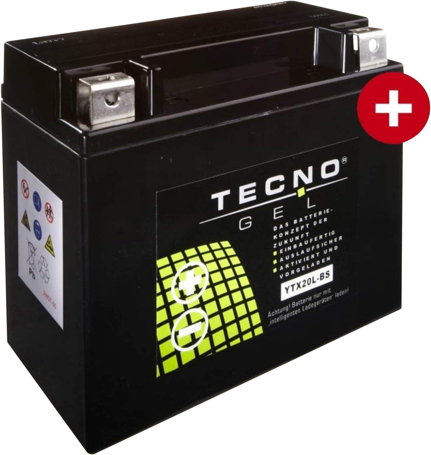 Tecno Ytx20l Bs Gel Batterie Flss 1800 Softail Slim S Abs 2016 Auto