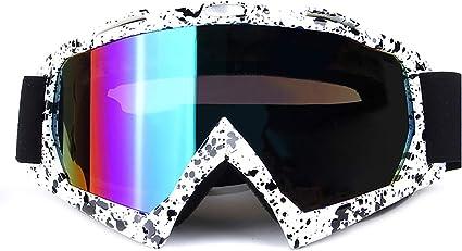 Adult//Man//Lady Black Motocross Dirt Bike Motorcycle Raider Goggles MX Goggle