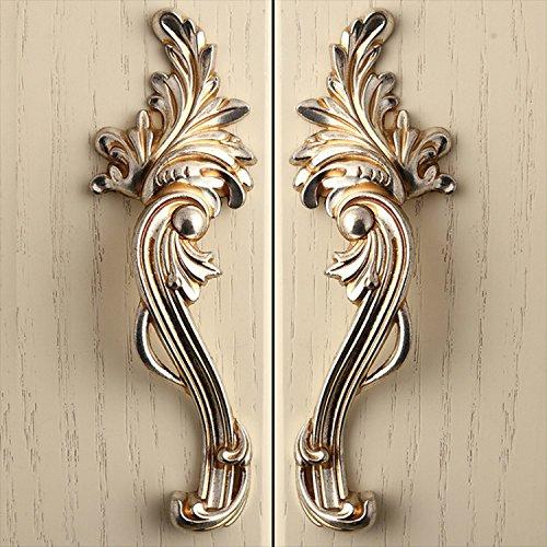 CSKB 2 PCS Chic Cupboard Pulls Handles cupboard/Cabinet Door Knobs/shabby chic dresser pulls/Dresser Pulls Handles ()