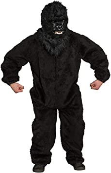 Peluche Mono Mono Disfraz Gorilla King Kong Negro Mono Disfraz ...