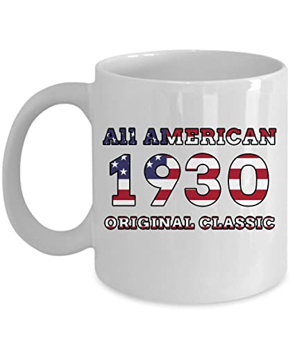 Amazon 1930 Birthday Mug