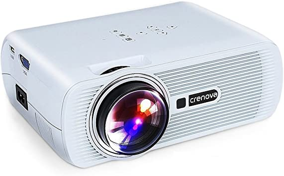 Amazon.com: Crenova XPE460 - Proyector de vídeo con pantalla ...