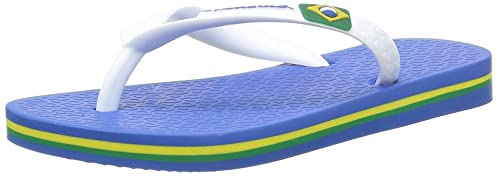 ff73c4db0980e8 Ipanema Blue and White Flip-Flops Children Classica Brasil II