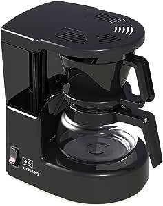 Melitta Cafetera de filtro con jarra de vidrio, Para 2 tazas de café, Aromaboy, Negro, 1015-02: Amazon.es: Hogar