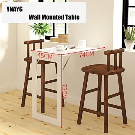 ZY Wall-Mounted Table Mesa Plegable desplegable montada en la ...