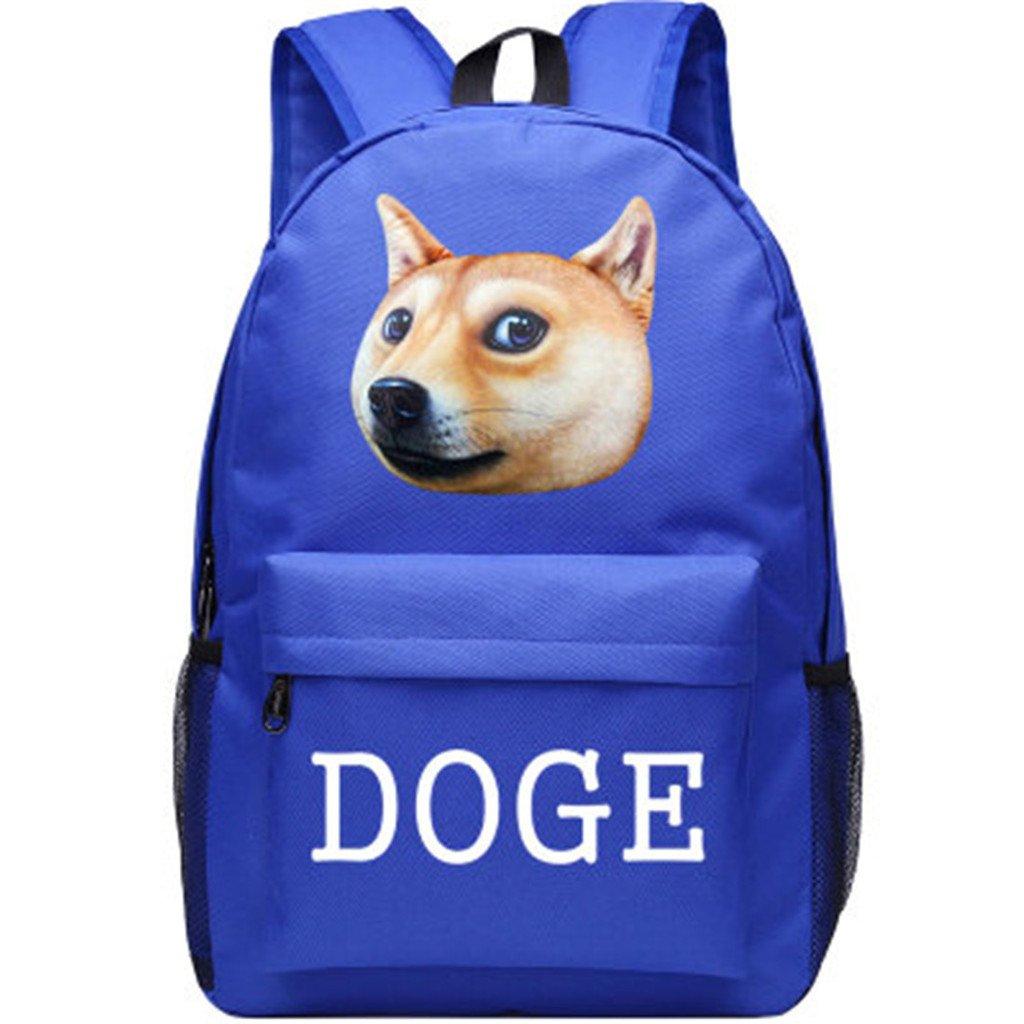 YOYOSHome Anime Doge漫画コスプレハンドバッグデイパックブックバッグ用バックパックスクールバッグ   B073GXYQ6Y