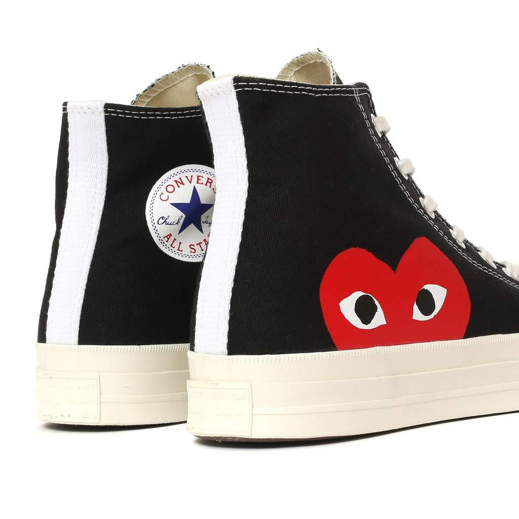 89853801e9b2 Comme des Garçons Play x Converse High Black  Amazon.co.uk  Shoes   Bags