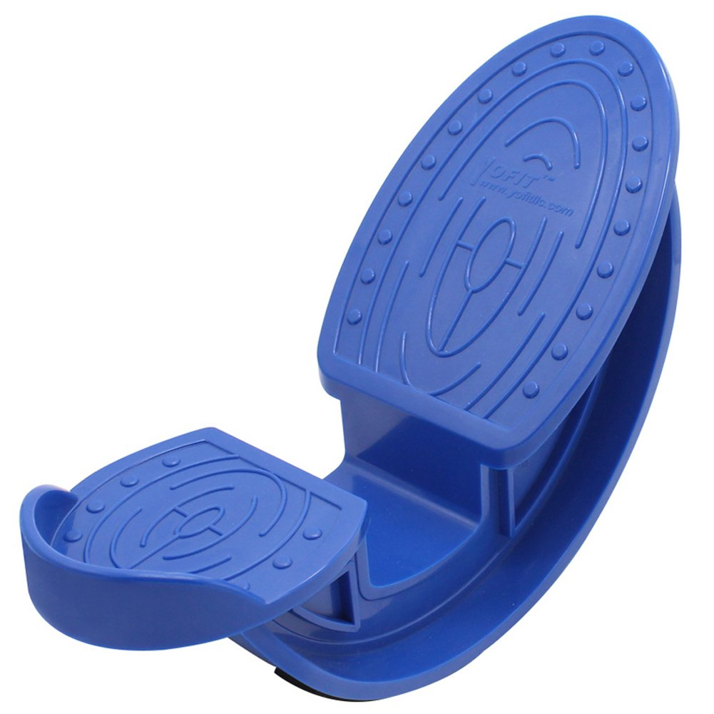 YOFIT Calf & Foot Stretcher, Foot Rocker Improve Flexibility, Ankle Mobility, Plantar Fasciitis (Navy Blue)