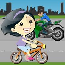 Bike Racer Gril